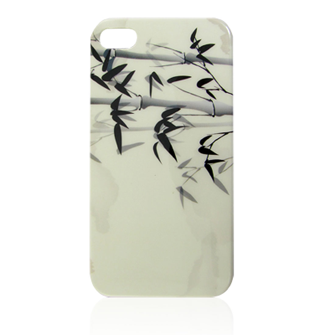 Bamboo Leaves Decor IMD Hard Plastic Smooth Back Cover for iPhone 4 4G 4S