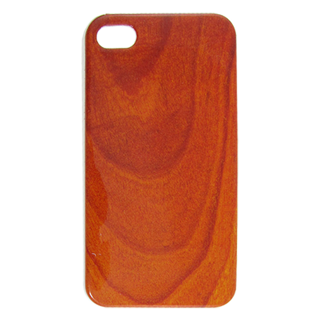 IMD Wood Pattern Hard Plastic Back Case Cover for iPhone 4 4G 4S