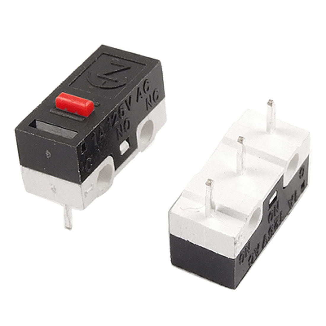 5 x SPDT 1NO 1NC Momentary Push Button Mini Micro Switches AC 125V 1A