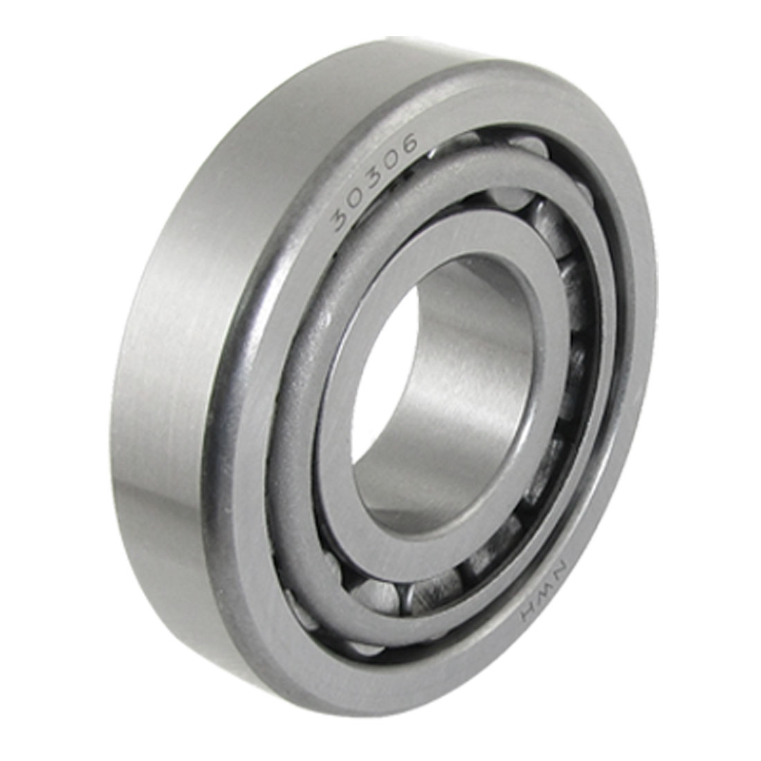 30306 Metal Single Row 30mm x 72mm x 19mm Tapered Roller Bearing