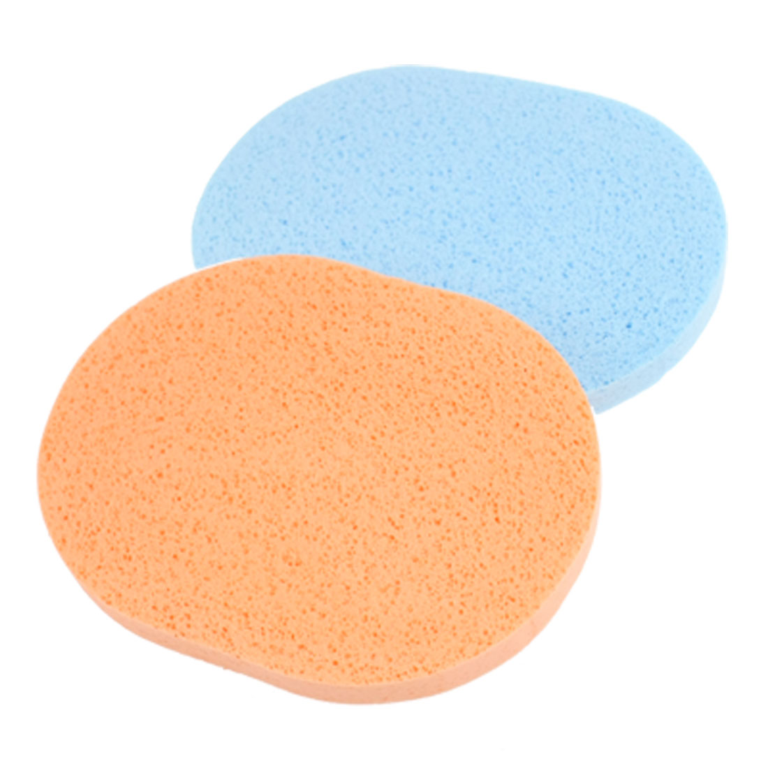 2 Pcs Soft Face Washing Cleansing Sponges Pads Puff for Ladies