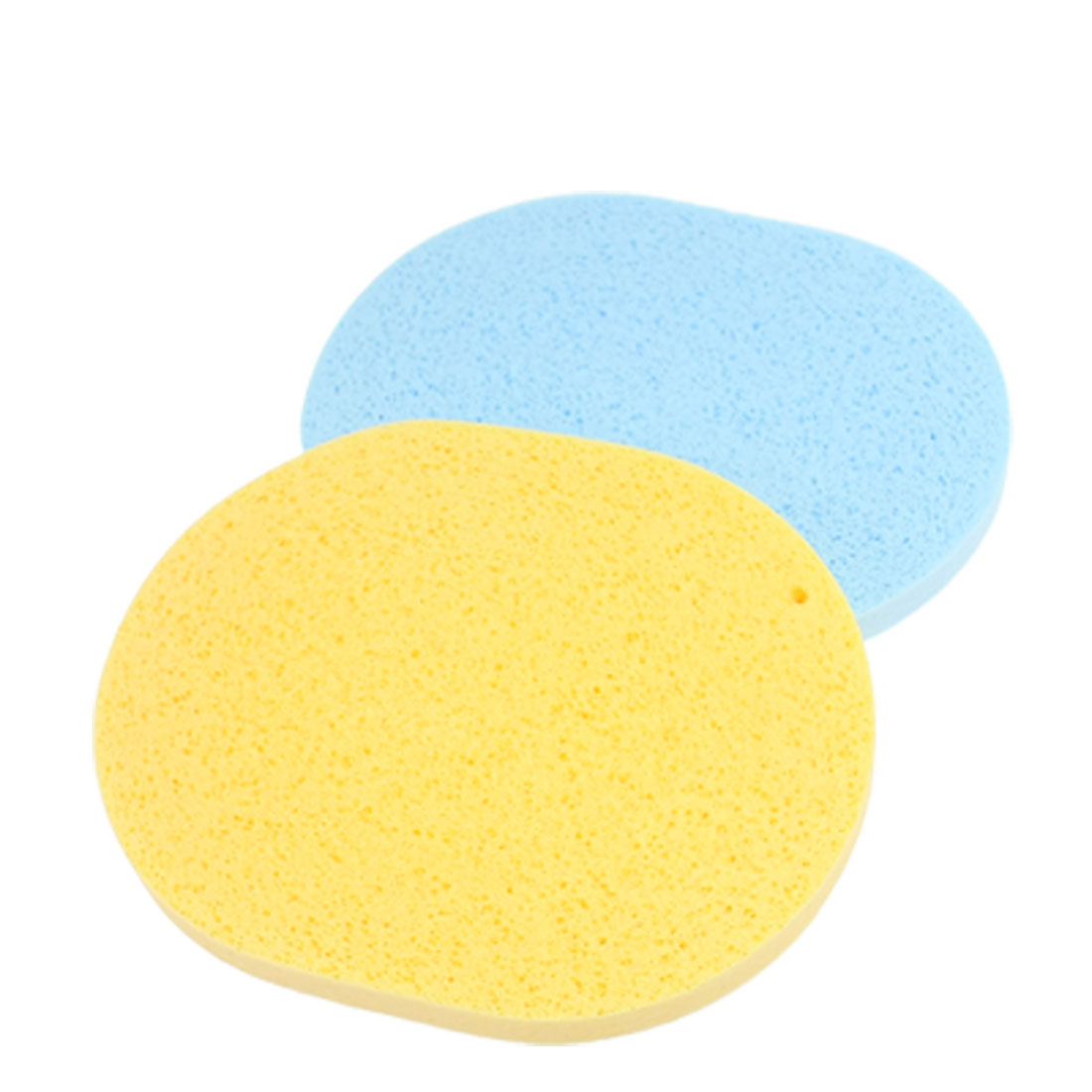 2 Pcs Soft Face Washing Cleansing Sponges Pads Puff for Women