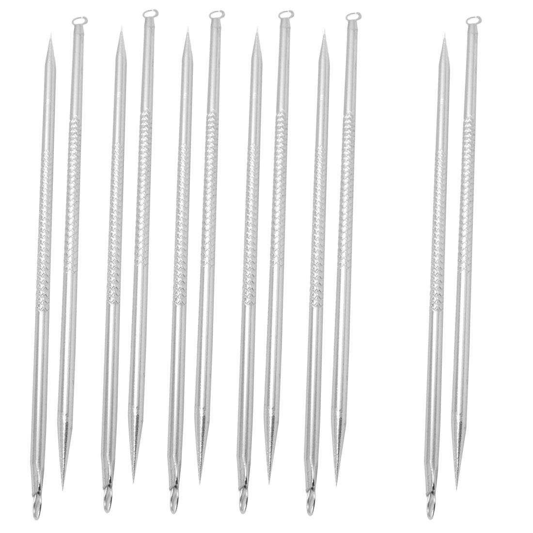 12 Pcs Blemish Blackhead Extractor Acne Removers Needles Beauty Tools