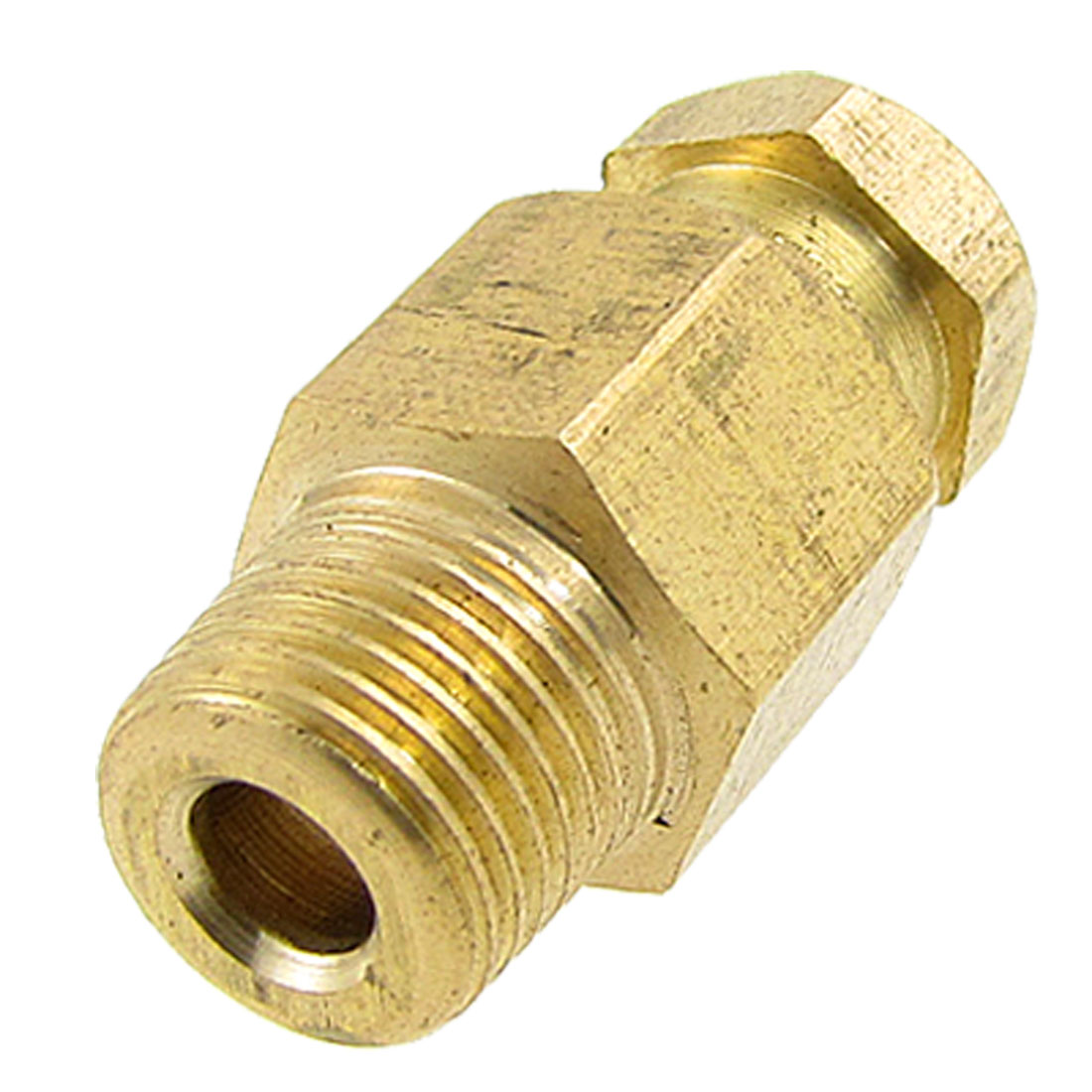 Injection Molding Machine 9mm Male Thread Brass Straight Coupling Connector