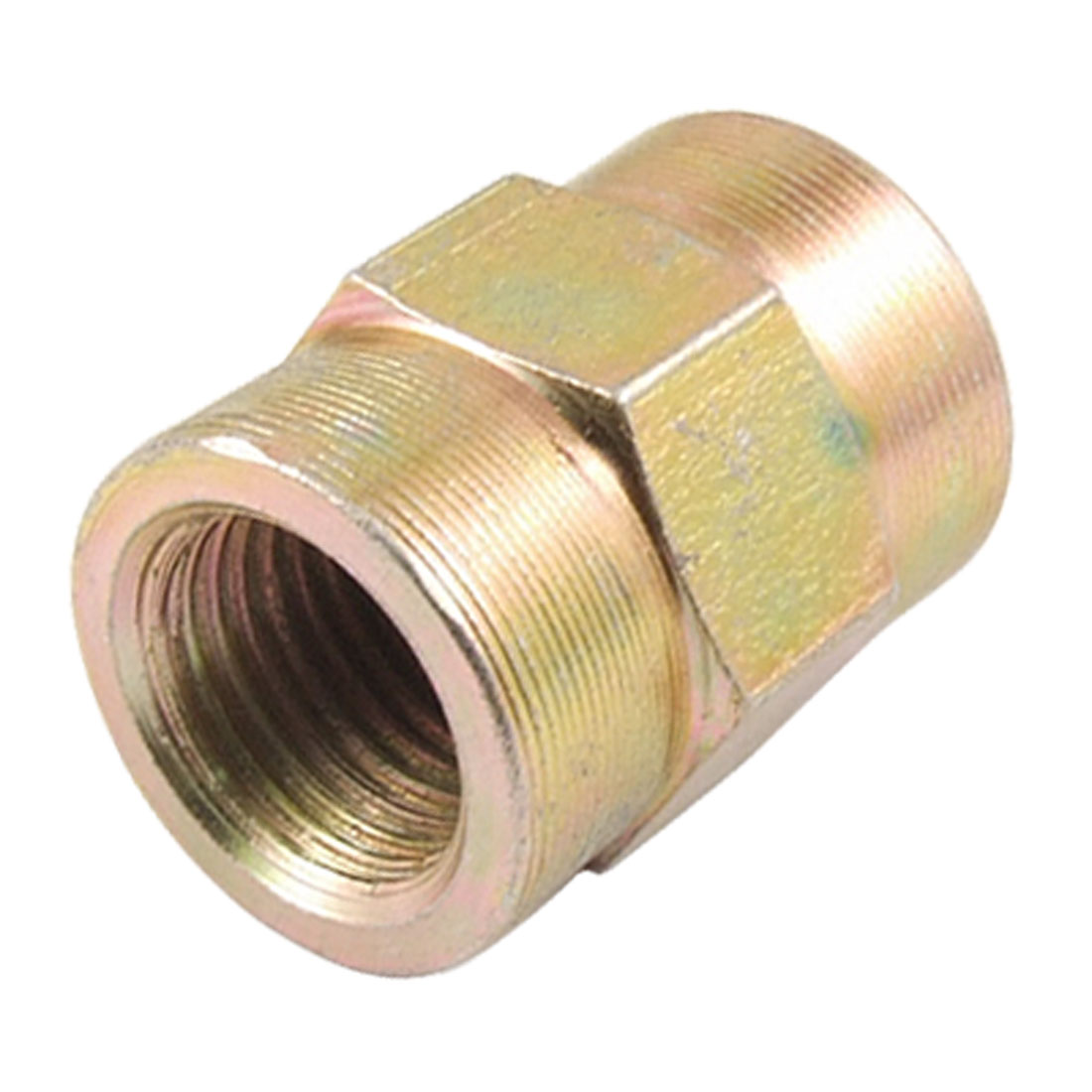 """15/32"""" x 15/32"""" Female Thread Oil Pressure Adapter Hex Pipe Coupling"""