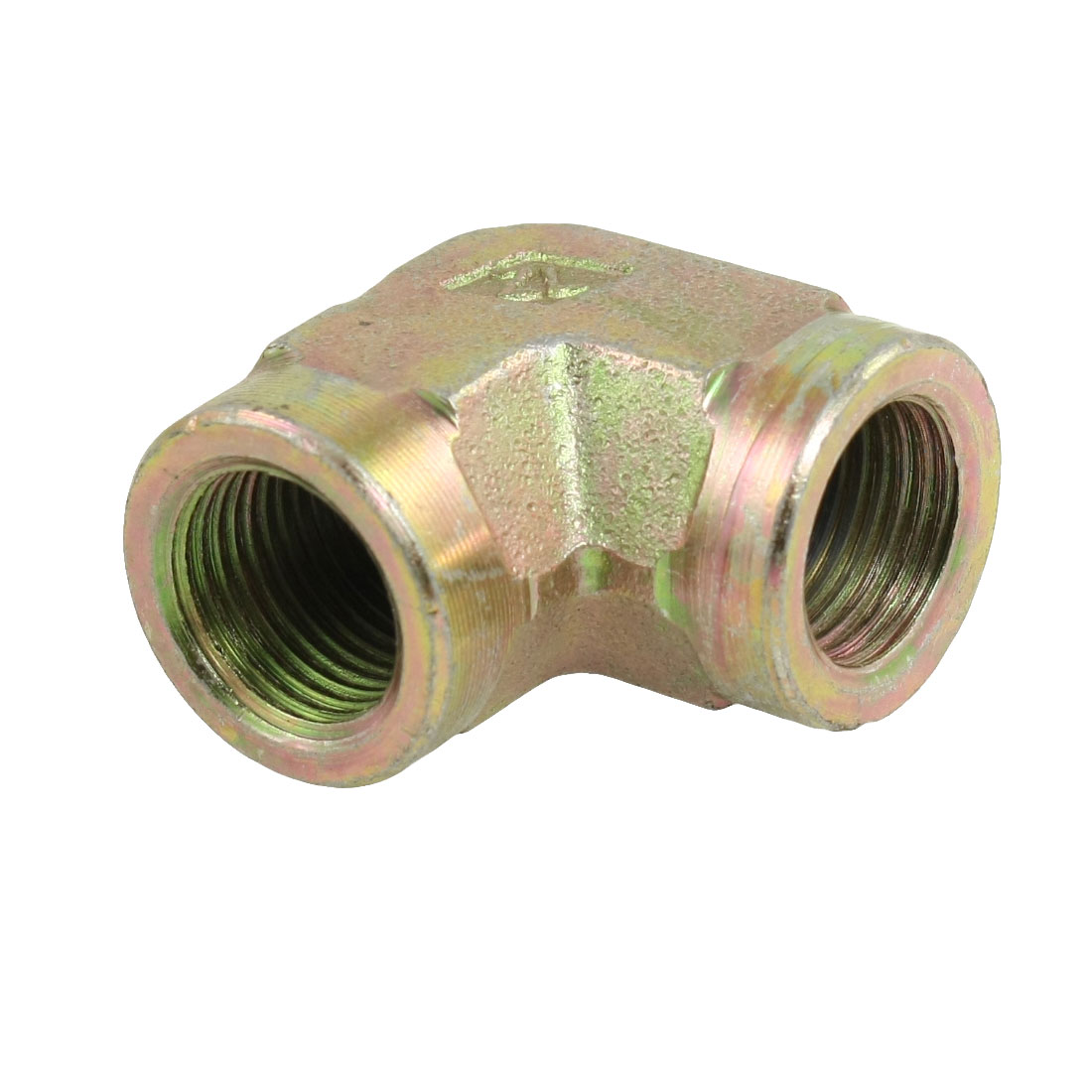 """18.8mm 0.74"""" Female Threaded 90 Degree Elbow Fitting Union Adapter"""