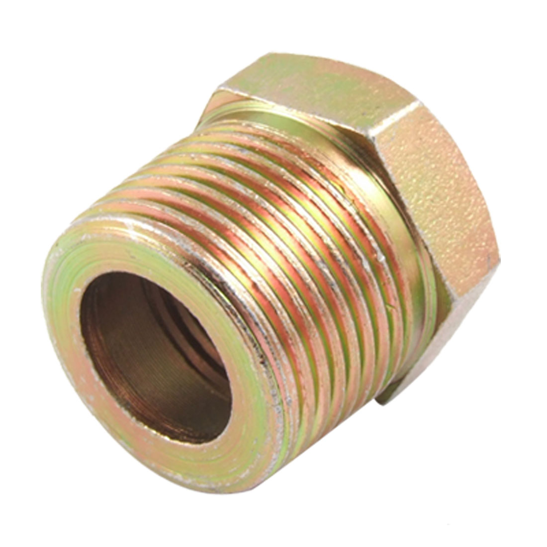 "Hydraulic Fitting 1"" Male to 47/64"" Female Thread Pipe Hex Reducing Bushing Adapter"