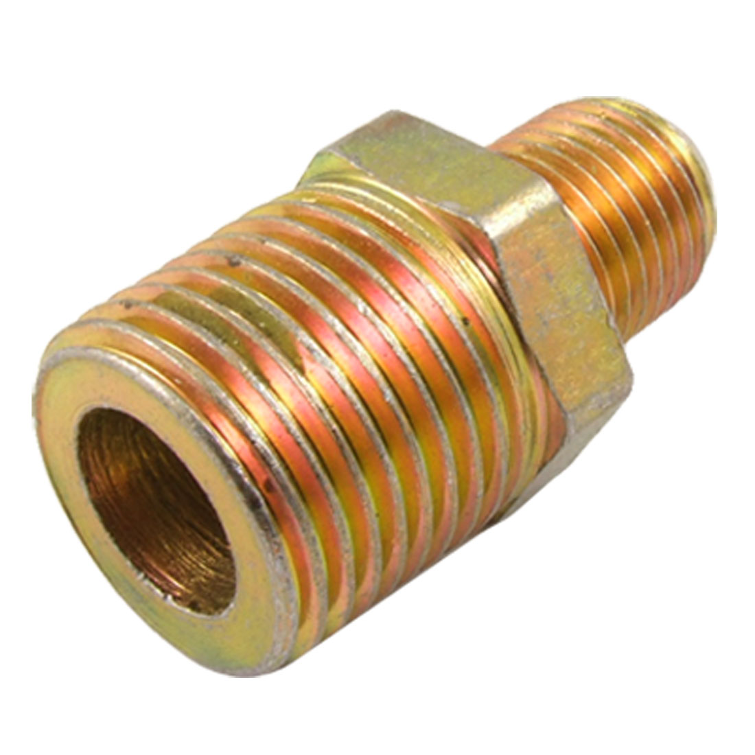 "Hydraulic Tube Fitting 5/16"" Male Flare x 4/5"" Pipe Thread Half Union Connector"