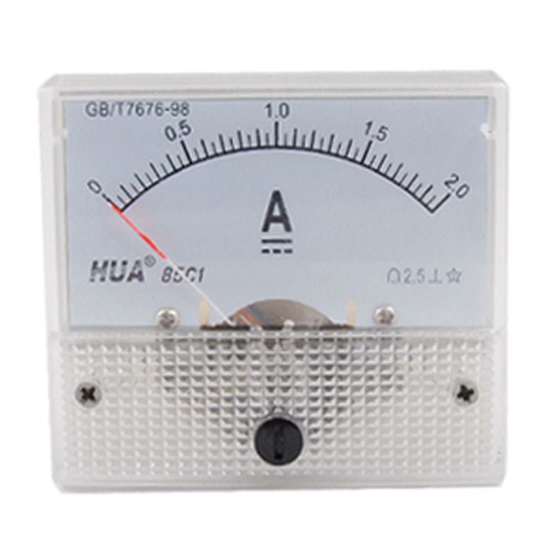 DC 0-2A Analog Current Panel Meter Ampere Ammeter 85C1