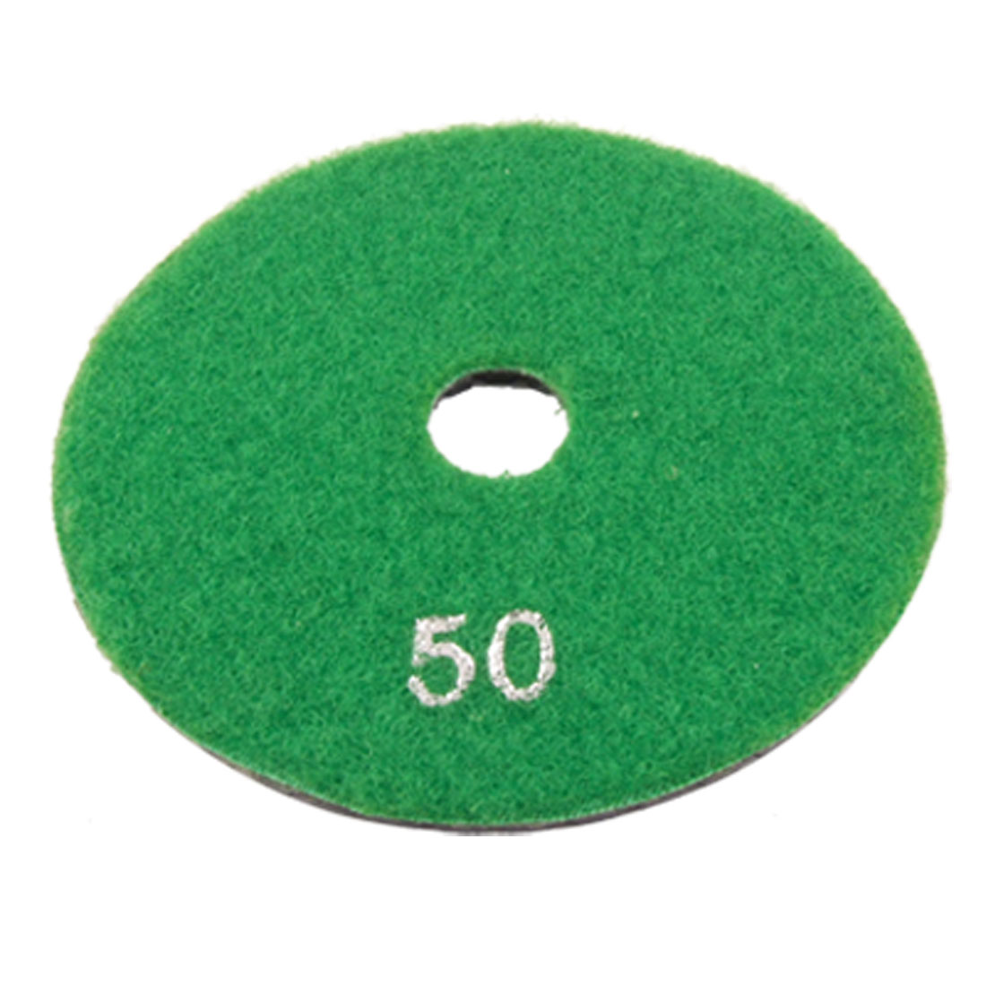 "4"" Granite Stone Concrete Wet Dry Diamond Polishing Pad 1/5"" Thick 50 Grit"