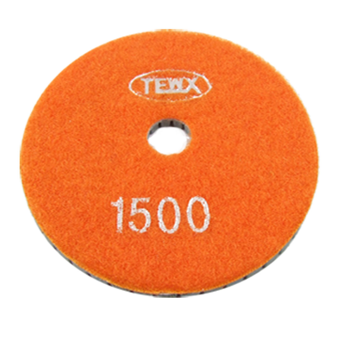 "4"" 1500 Grit Granite Stone Marble Buffing Diamond Polishing Pad Disc 5.5mm Thick"