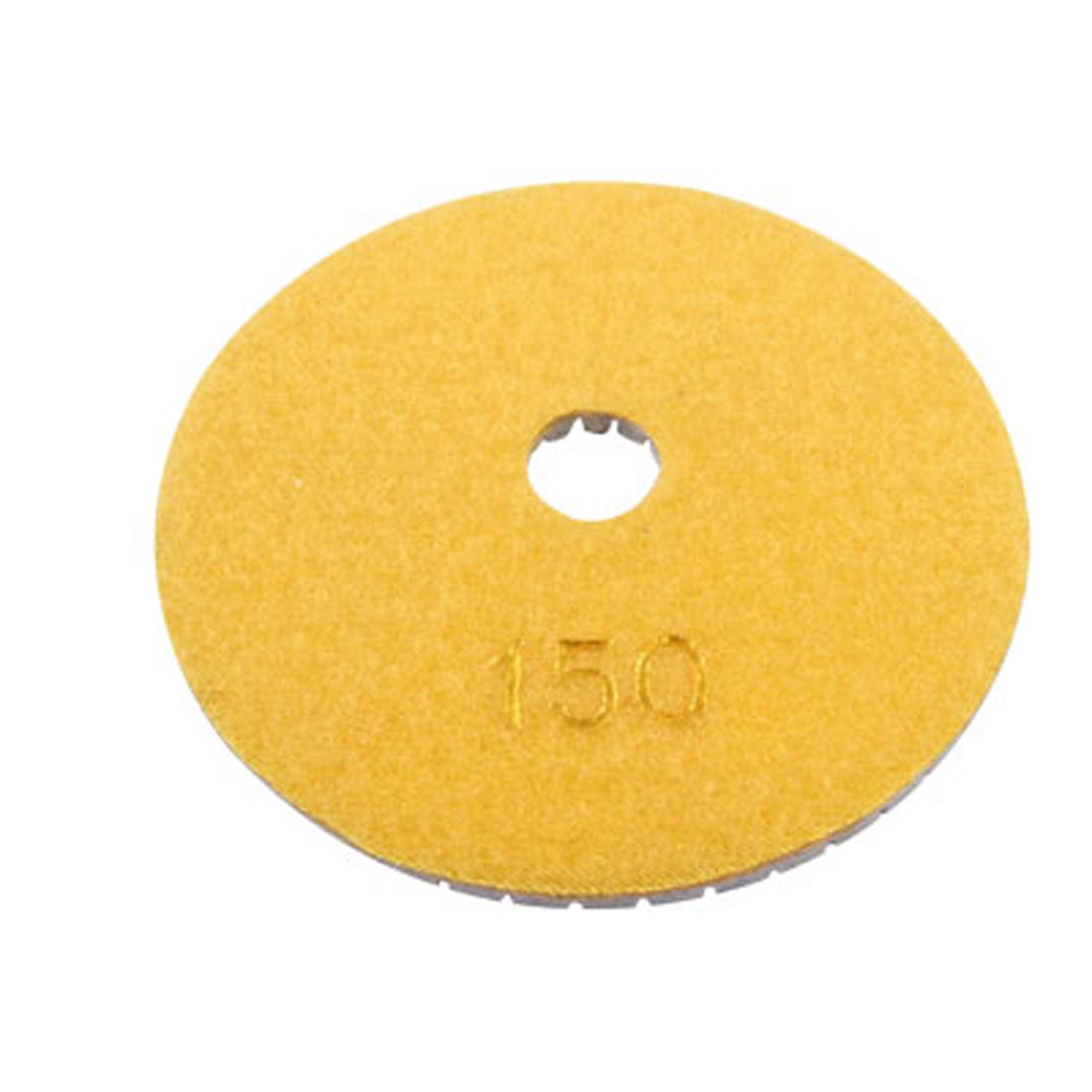 "4"" Inch 150 Grit Buffing Wet Dry Diamond Polishing Pad Disc for Concrete Stone Marble"