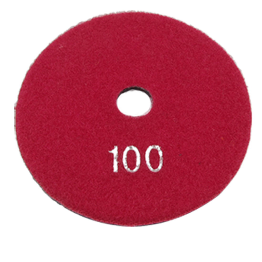 100 Grit Marble Concrete Granite Diamond Resin Polishing Pad 4 Inch Red