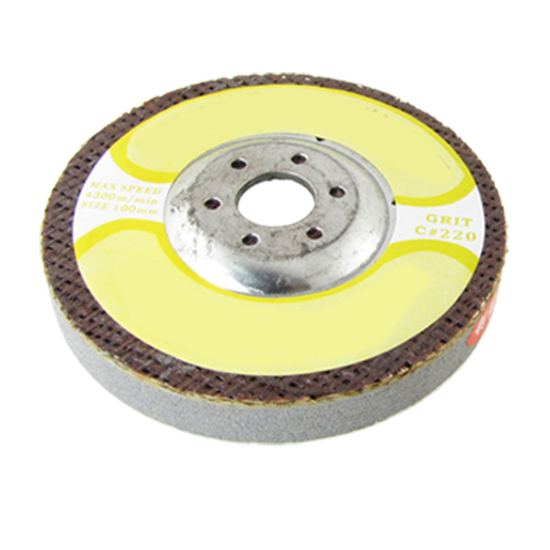 "4"" Outside Dia. 220 Grit Whetstone Grinding Wheel 9/16"" Thick"