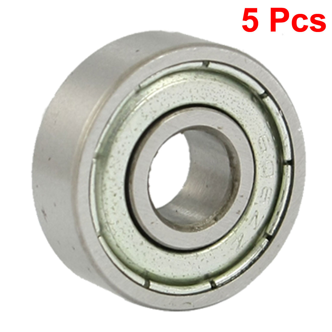 606Z 6 x 17 x 6mm Metal Miniature Deep Groove Ball Bearings 5 Pcs