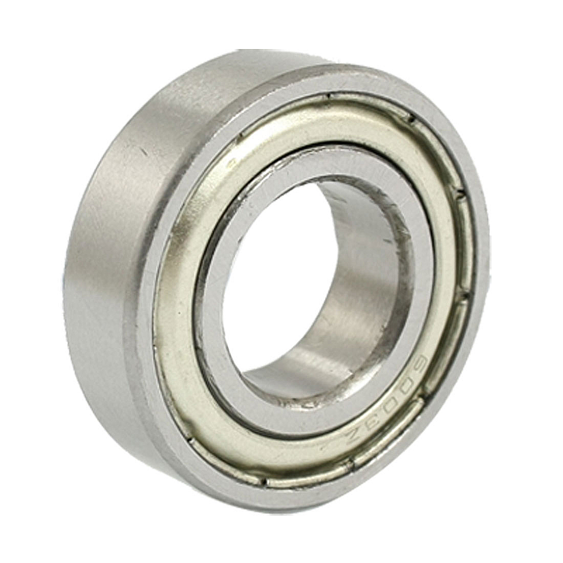 5 Pcs 6003Z 17 x 35 x 10mm Double Shield Metal Deep Groove Ball Bearings