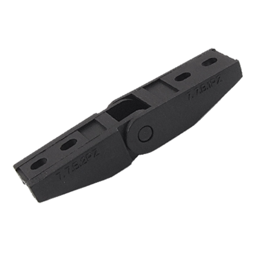 Drag Chain Cable Carrier Connector Adapter 7mm x 7mm Black