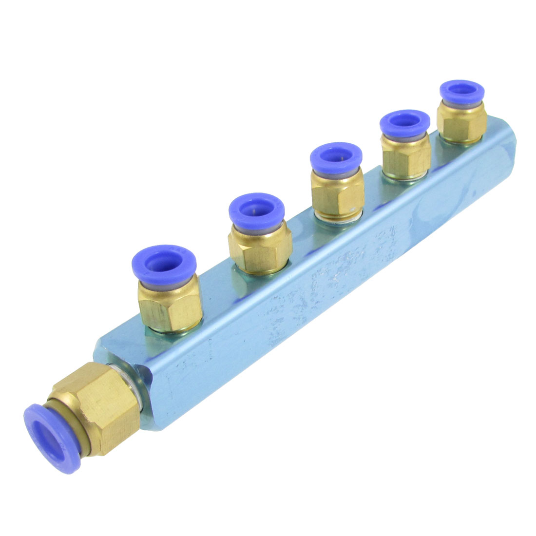 8mm to 10mm Pneumatic Hose Tube One Touch Fitting Manifold Quick Connector
