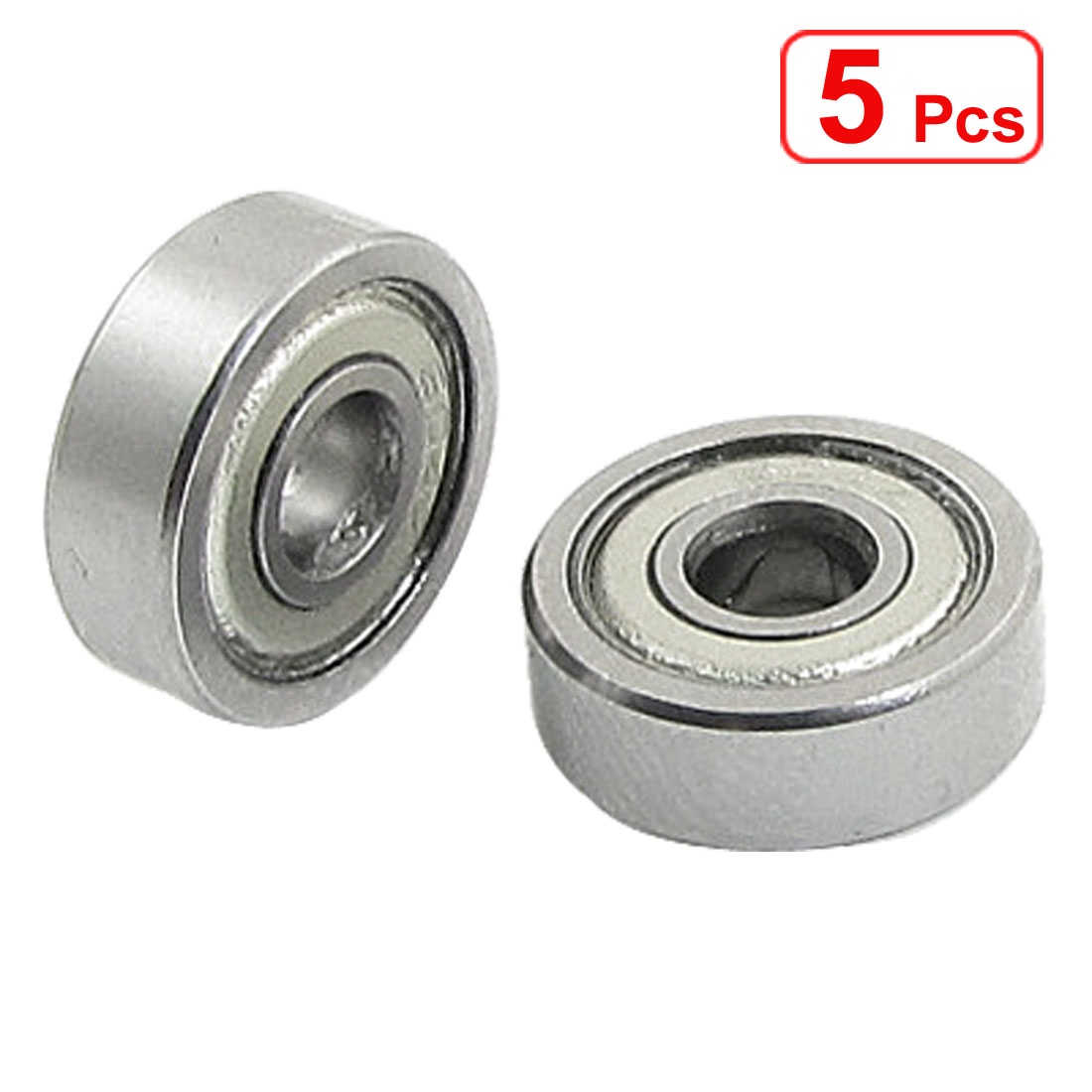 5 Pcs 604Z 4 x 12 x 4mm Shielded Miniature Ball Bearings