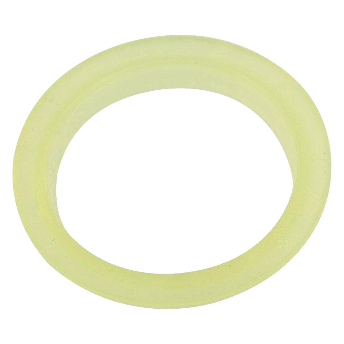Air Cylinder PU Gasket Ultrathin Single Lip Dust Seal 28 x 38 x 2.5 x 5mm
