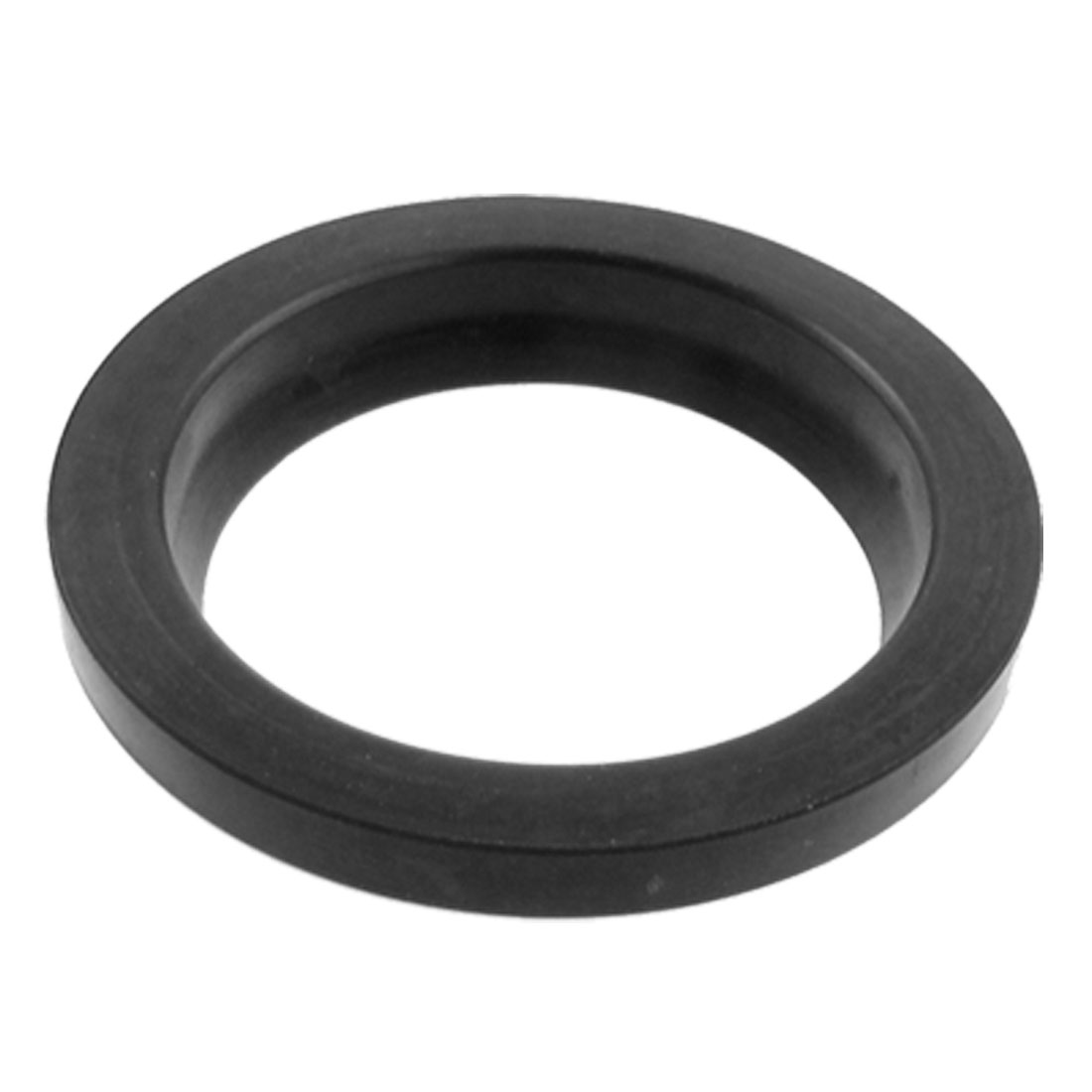 36mm x 48mm x 5mm x 9mm PU Dust Proof Shaft Oil Seal Black