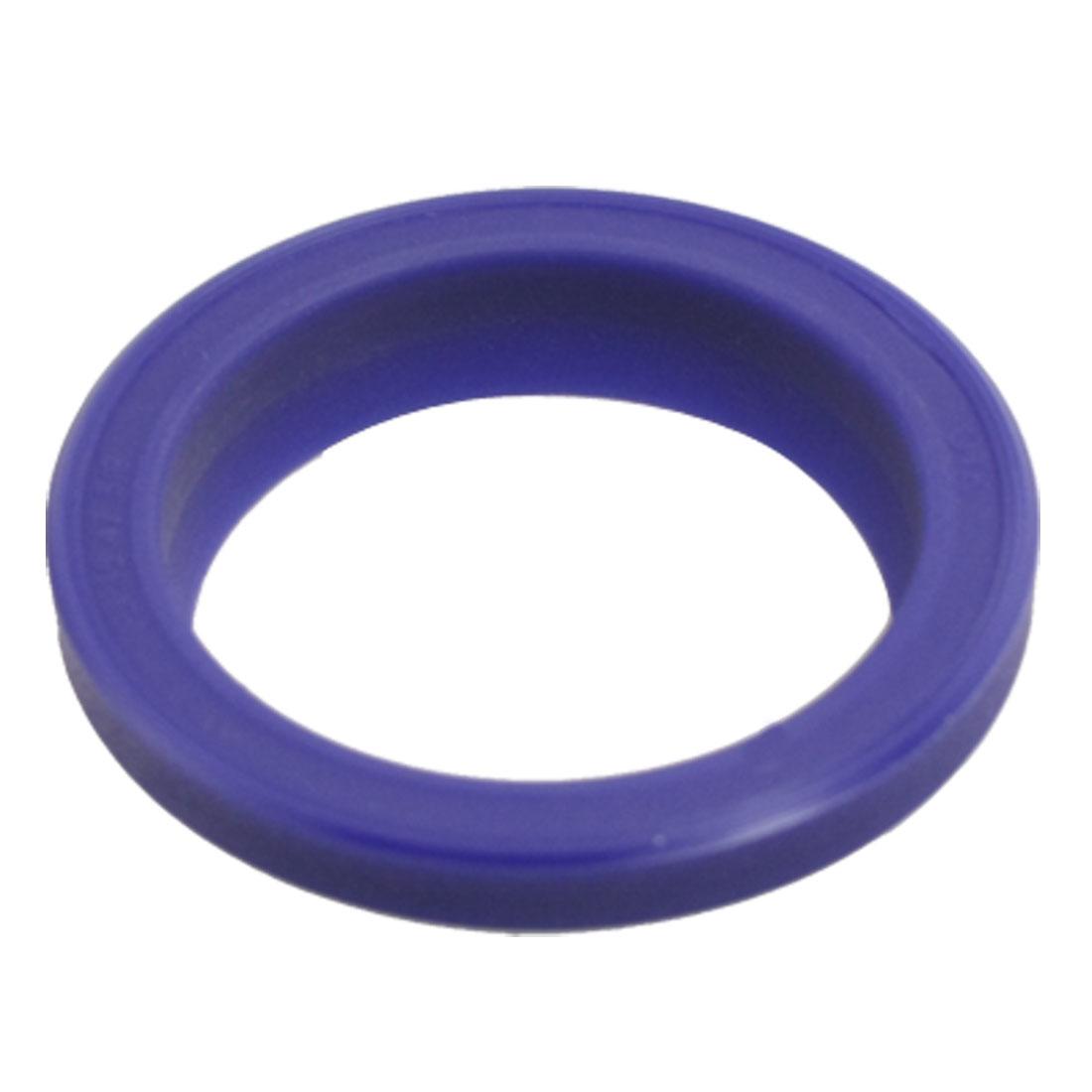 Hydraulic Machine FJ 35mm x 47mm x 5mm x 9mm PU Dust Shaft Seal Blue