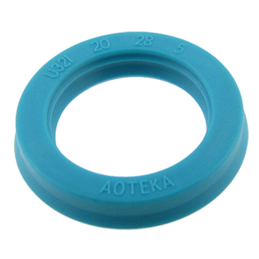 Single Lip U Cup PU Oil Seal 20x28x5mm for Hydraulic Cylinder