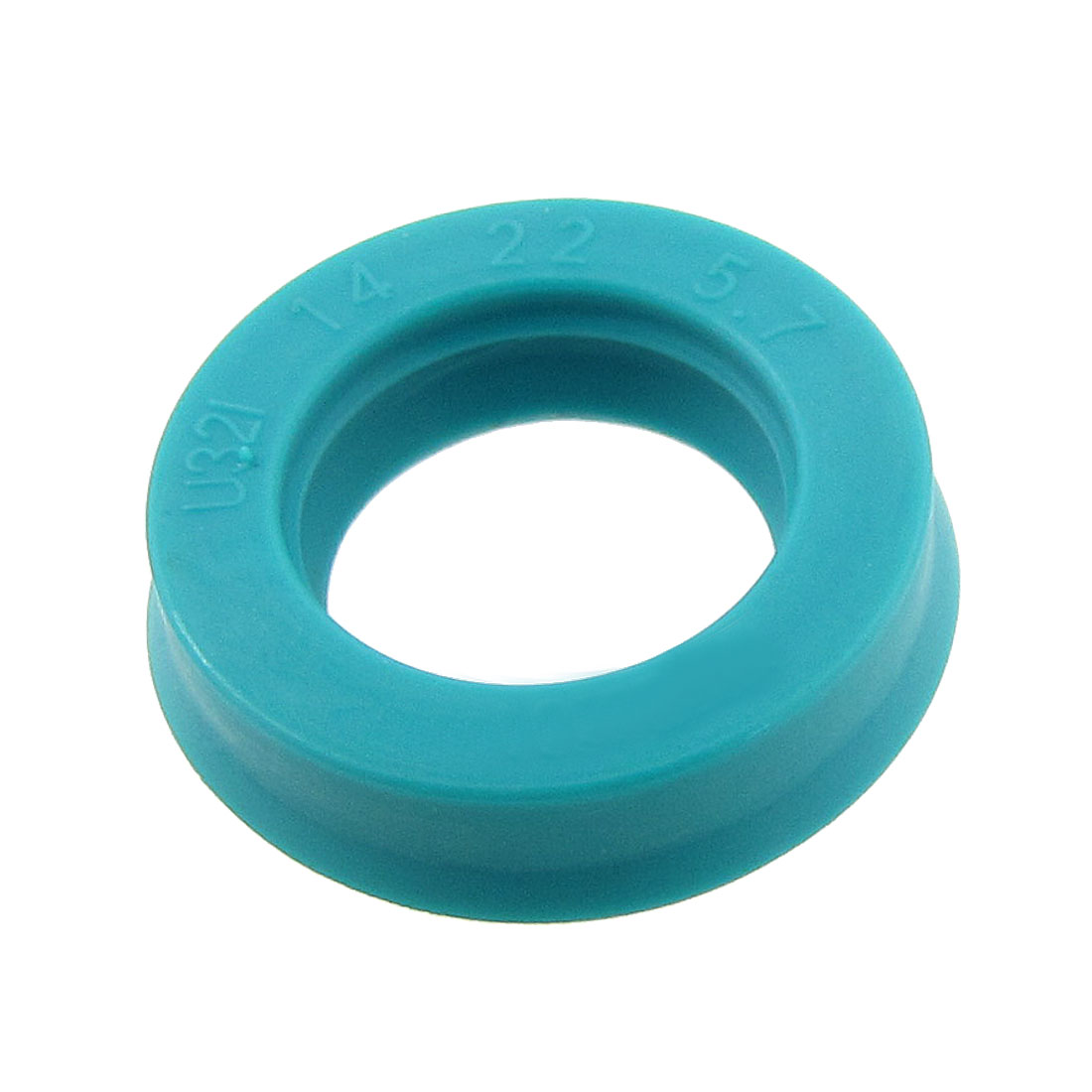 Metric 14 x 22 x 5.7mm Single Lip Piston Rod Oil Grease Seal U32i