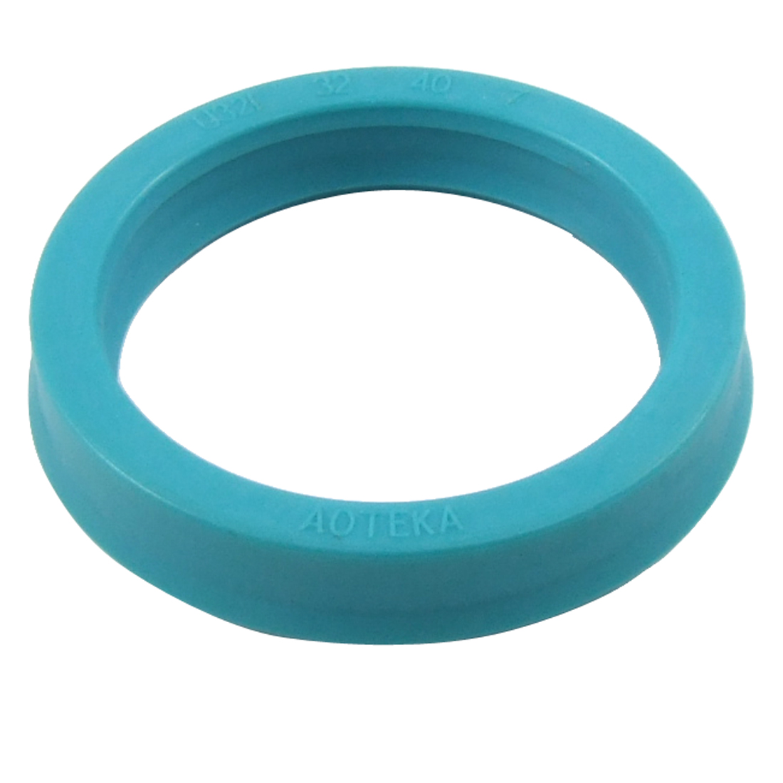 32x40x7mm U32i Metric Single Lipped Hydraulic Cylinder PU Oil Seal Ring Cyan Blue