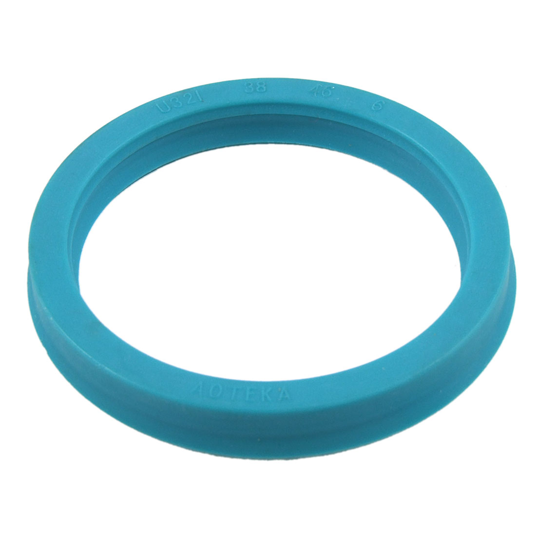 38mm x 46mm x 6mm Hydraulic Cylinder Rod PU Single Lip Oil Seal