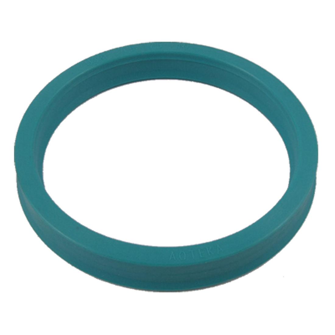U32i PU Single Lip Metric Piston Rod Oil Seal 65x75x10mm for Hydraulic Cylinder