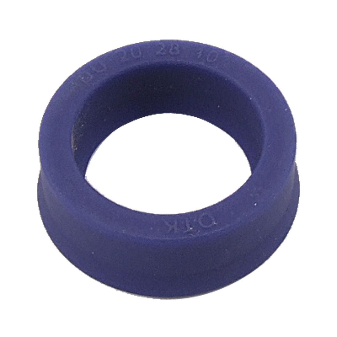 Metric 20x28x10mm Polyurethane PU IDU Piston Rod Double Lip Oil Seal