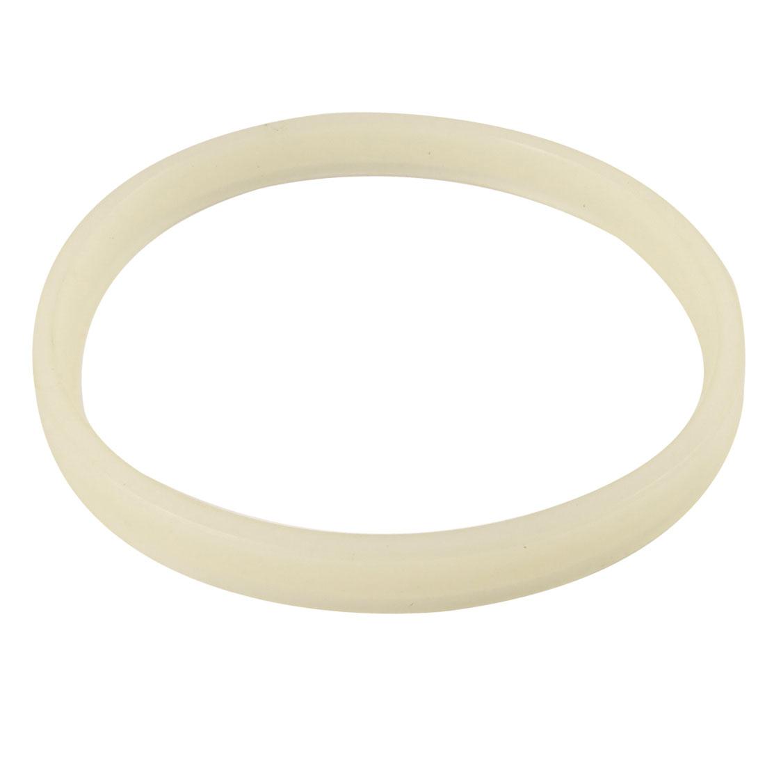 150mm x 140mm x 12mm Beige Polyurethane Pressure Oil Seal