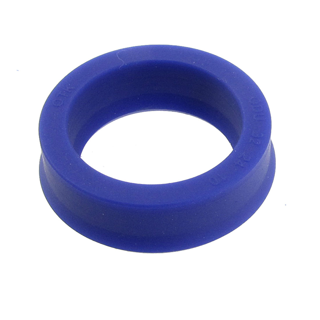32mm x 24mm x 10mm Blue Polyurethane Piston Oil Seal Ring