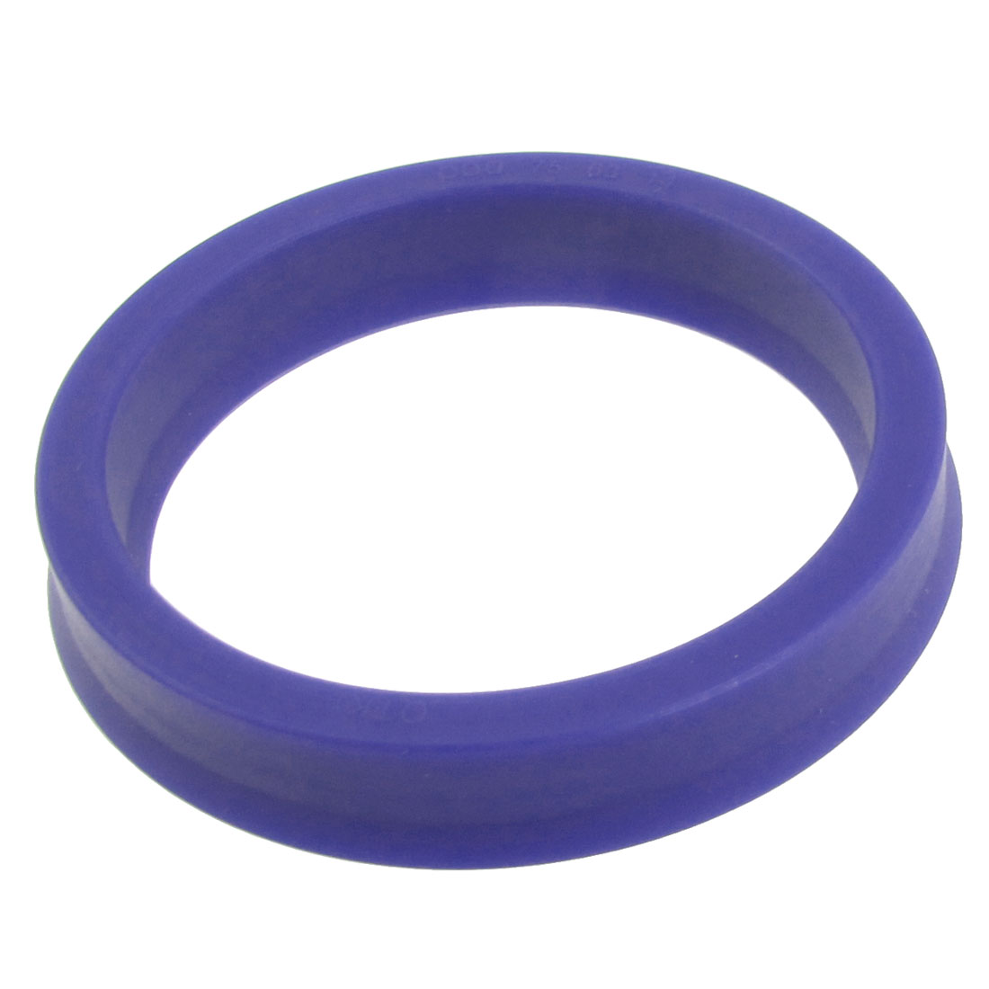 Auto Car Crankshaft Blue PU Piston Rod Shaft Oil Seal 75x63x14mm