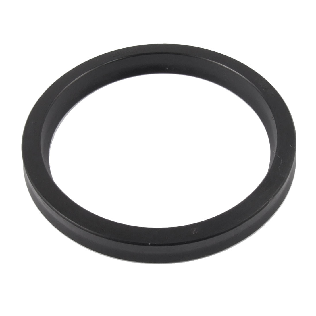 USH 60mm x 71mm x 7mm Hydraulic Rubber Oil Seal Ring Balck