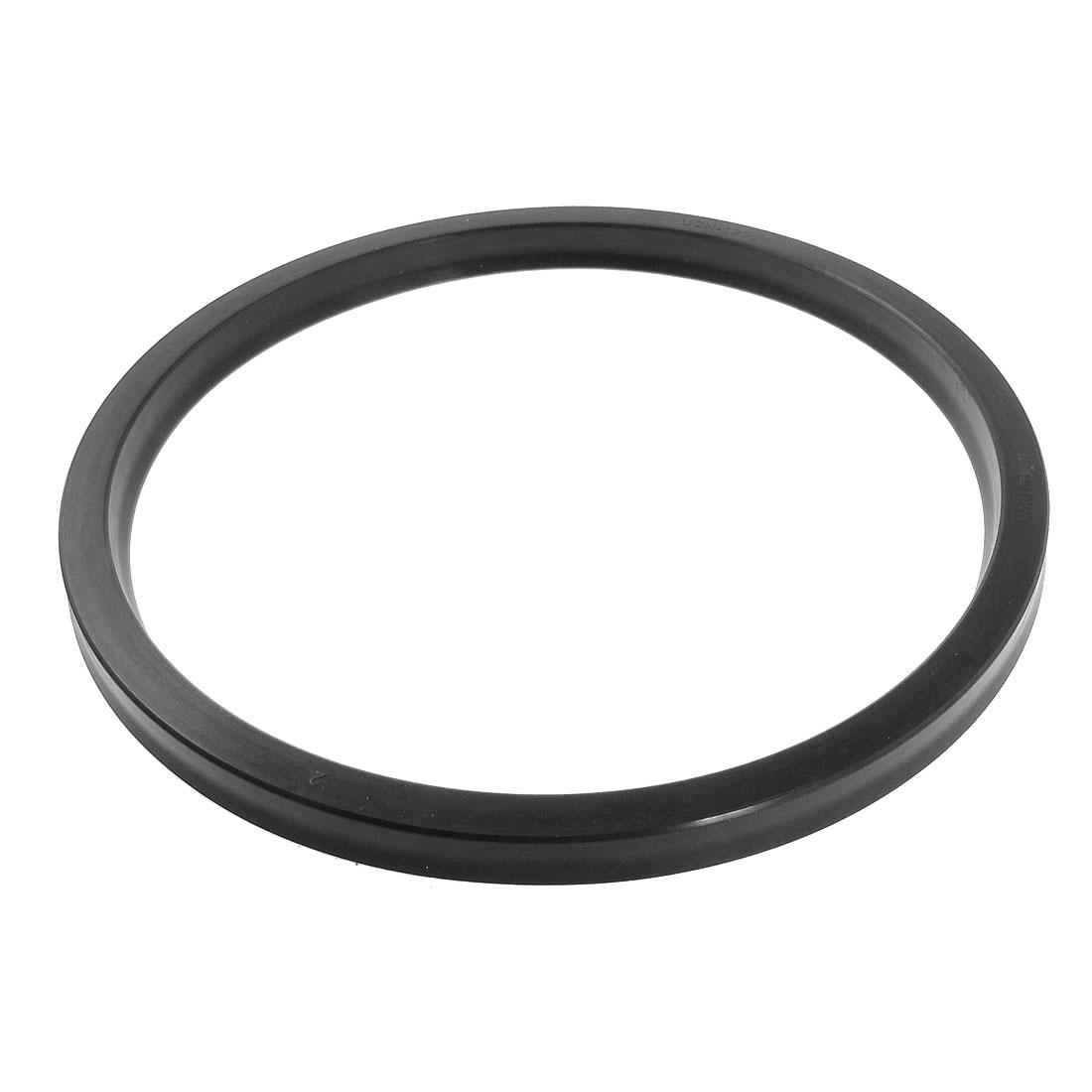 Mechanical USH 135 x 150 x 9mm Black Rubber Gasket Oil Seal