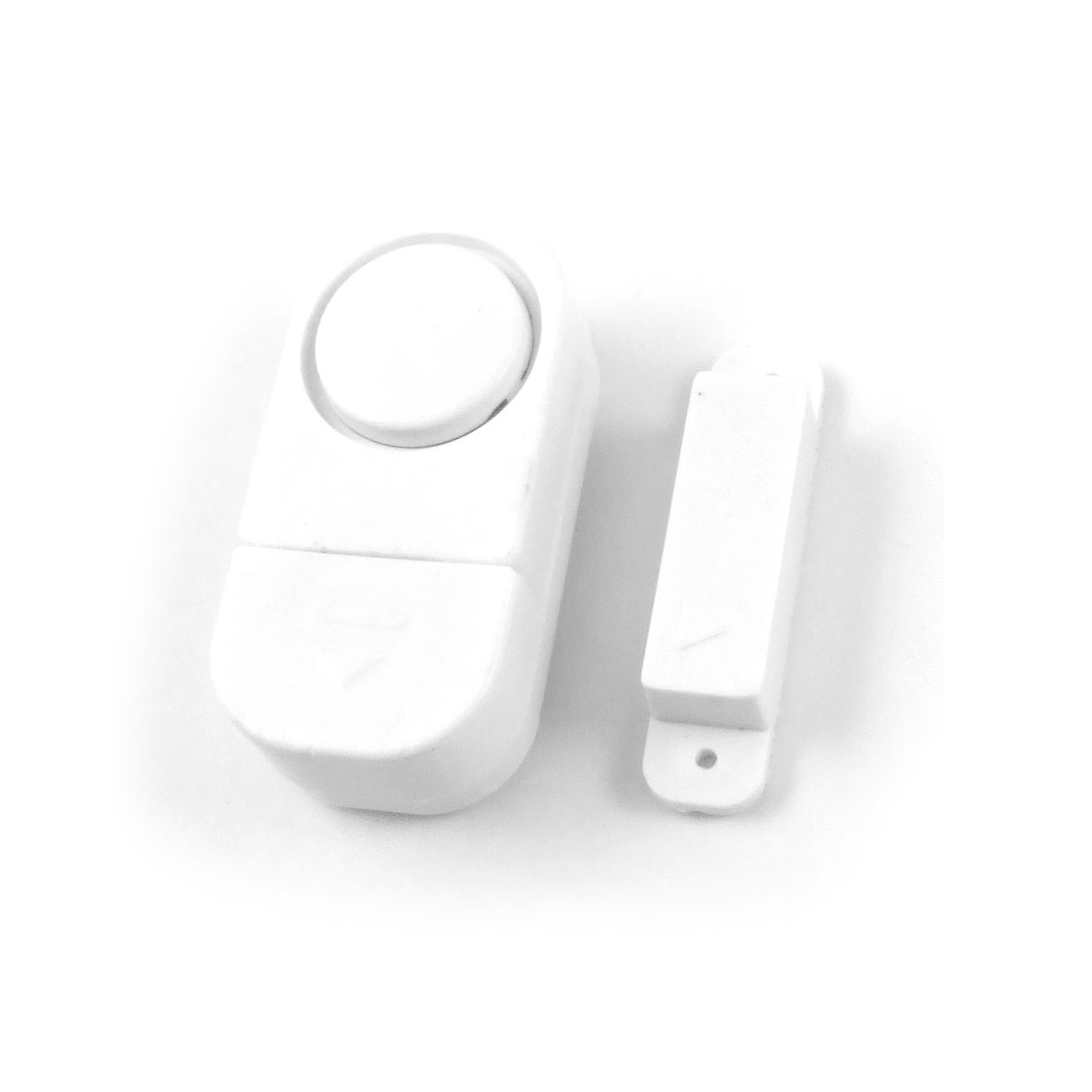 Security Magnetic Detector Adhesive Door Sensor Alarm White