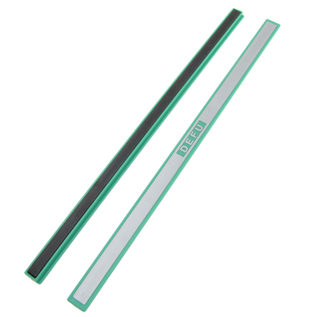 "2 Pcs 7.8"" Long Green Plastic Whiteboard Magnetic Bars for School Office"