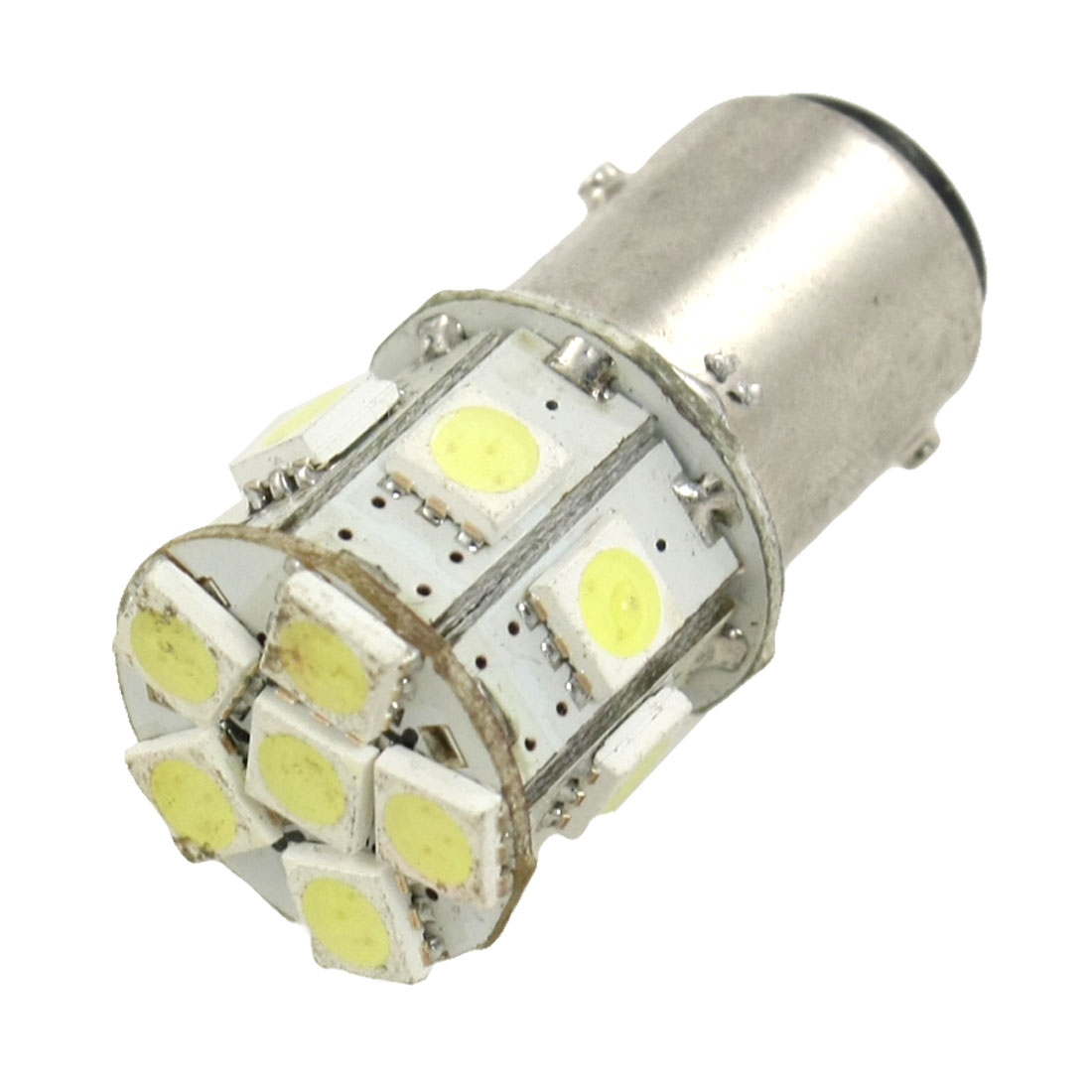 BAY15D 1157 13 White Strob Flash LED 5050 SMD Car Tail Packing Brake Light Bulb
