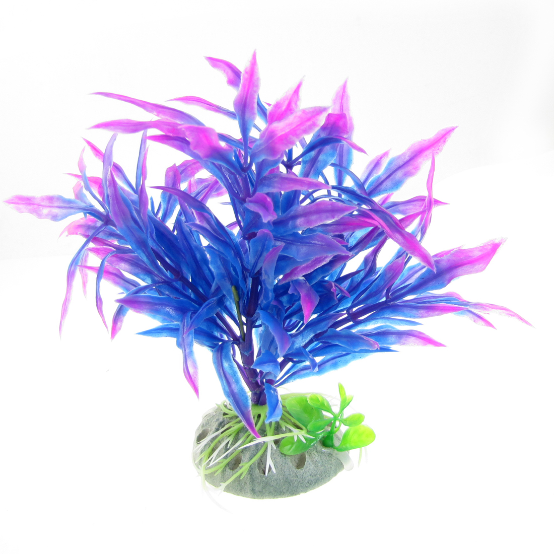 Aquascaping Purple Magenta Plastic Plants for Aquarium Tank