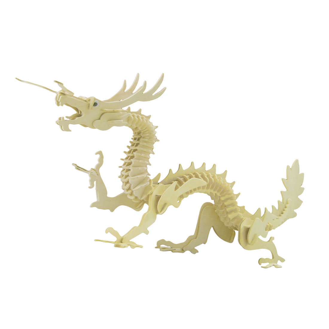 3D Dragon Design Wooden Model Toy Woodcraft Construction Kit