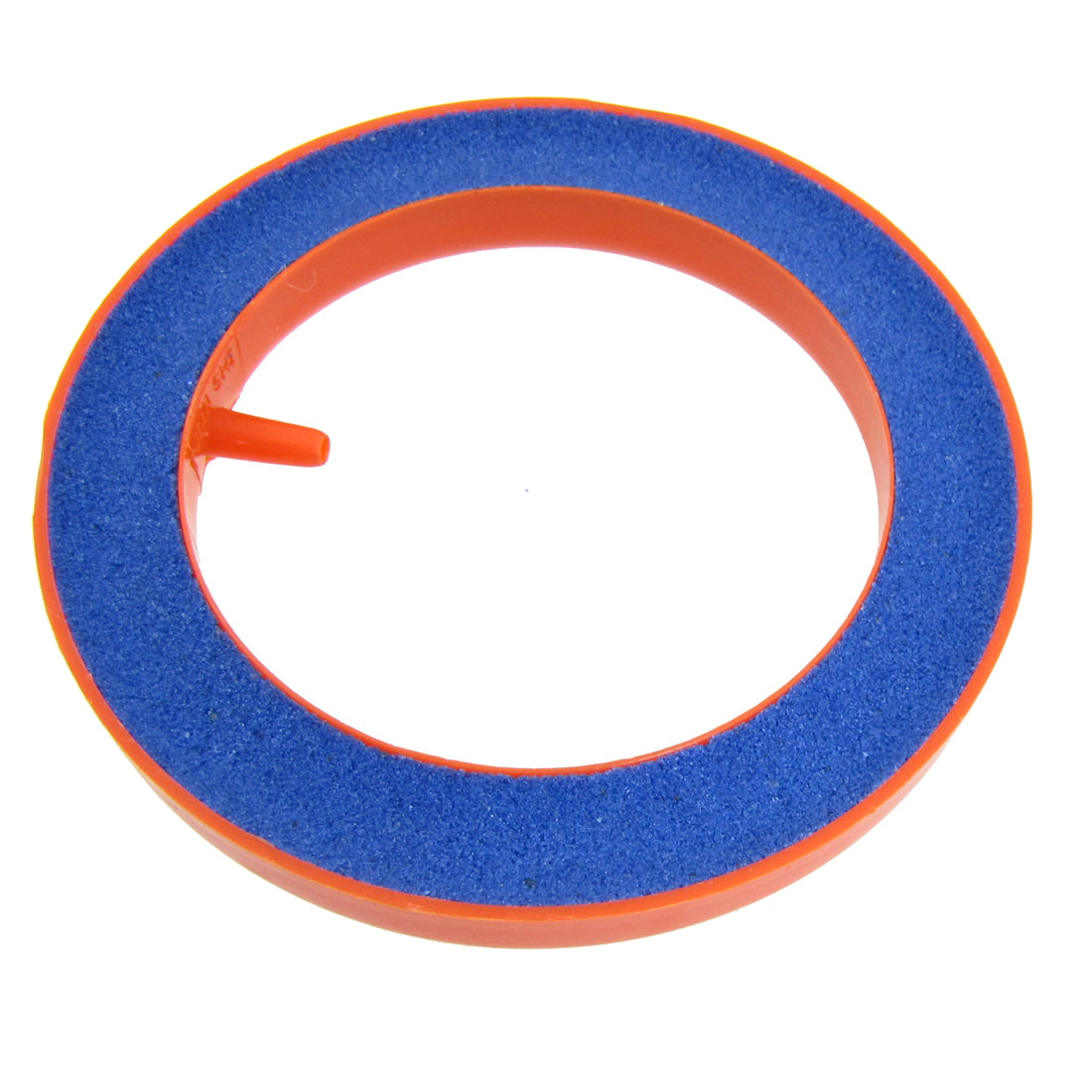 "3.94"" OD Round Mineral Bubble Air Stone Orange Blue for Aquarium Tank"