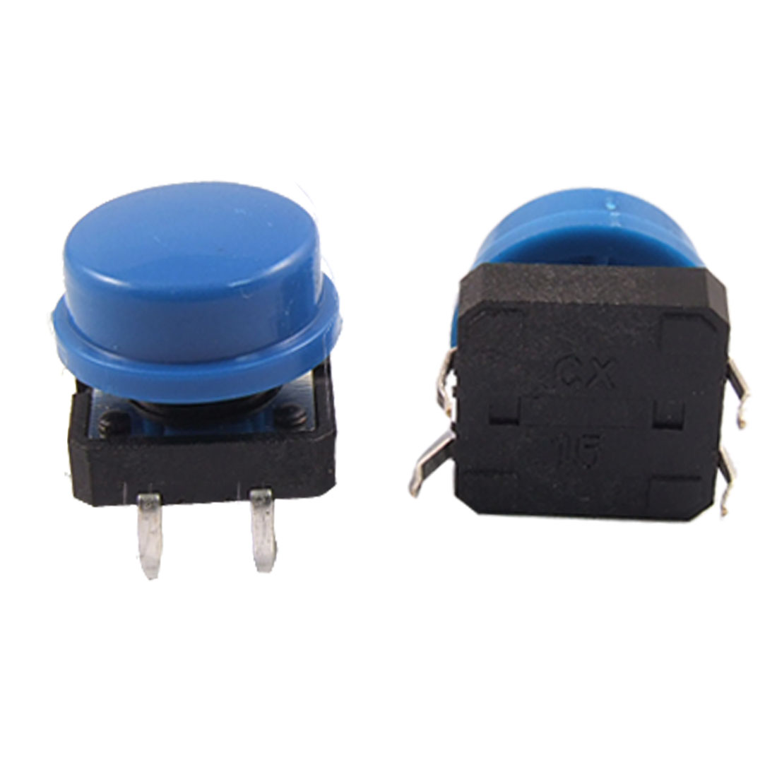 20pcs Momentary Tact Tactile Push Button Switch 12 x 12 x 12mm 4 Pin DIP w Cap