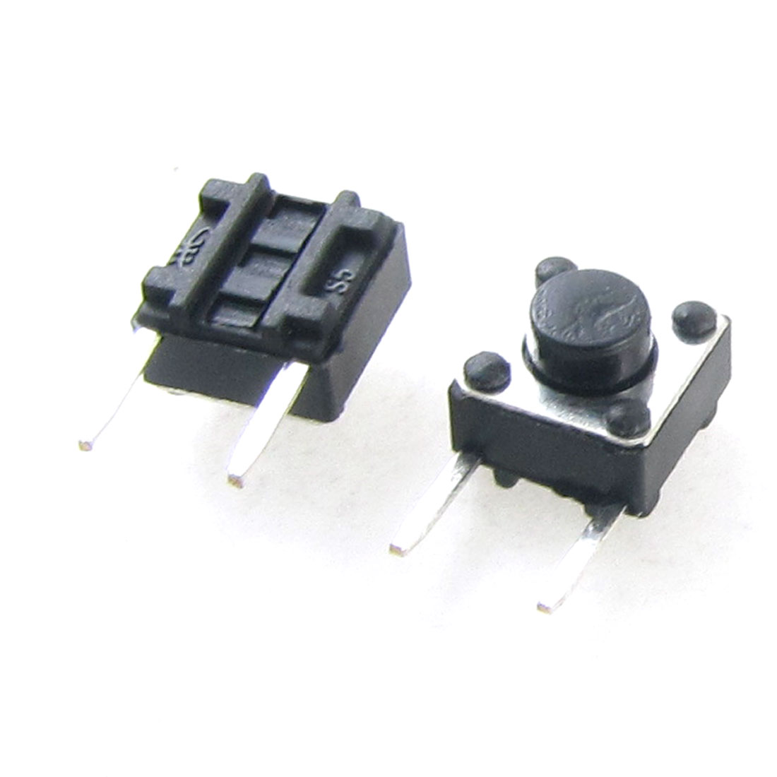 50 Pcs 6 x 6mm x 5mm Momentary Push Button Tactile Switch DIP Through Hole