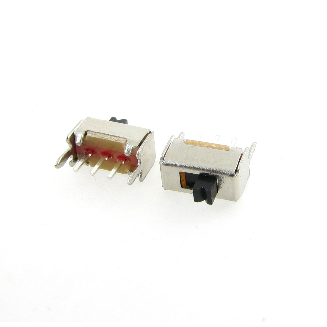 20 Pcs 3 Pin PCB 2 Position SPDT 1P2T Miniature Vertical Slide Switch SS12D07VG2
