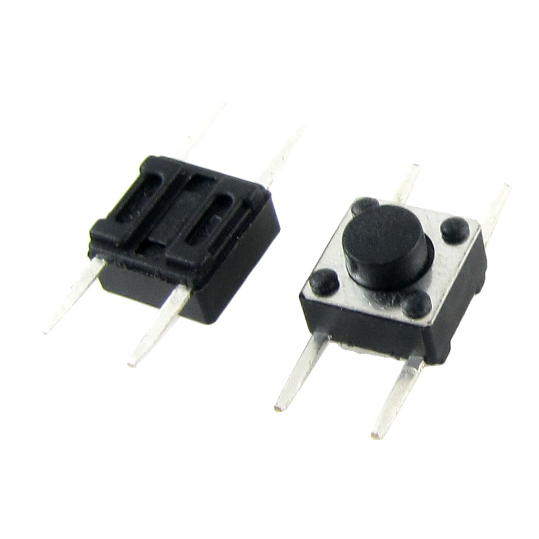 50 Pcs 6 x 6mm x 4mm Momentary Push Button Tact Tactile Switch Non Lock 2 Pin