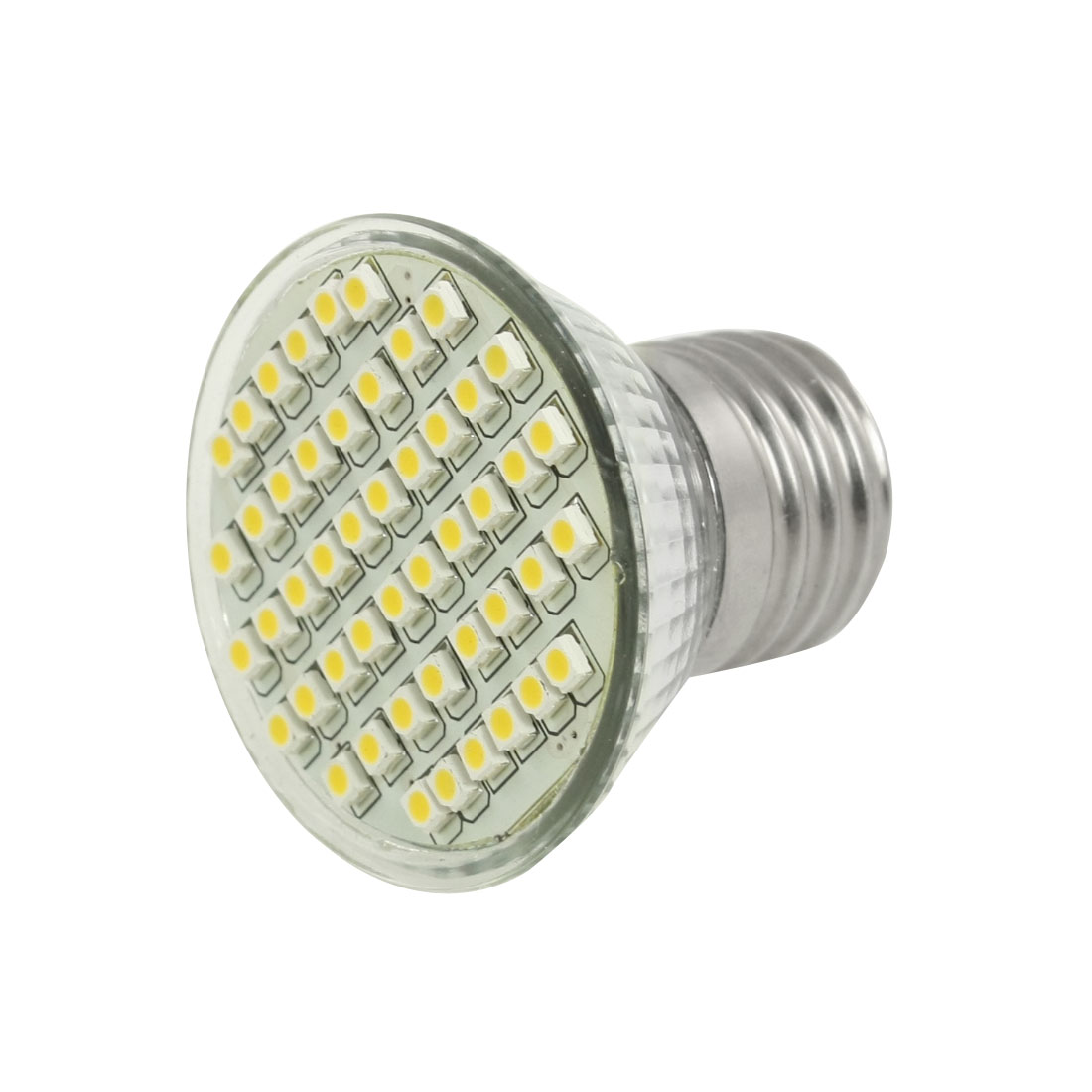 Energy Saving 48 SMD LED Warm White Lamp Bulb 2800K-3000K 360LM AC 220V 4W