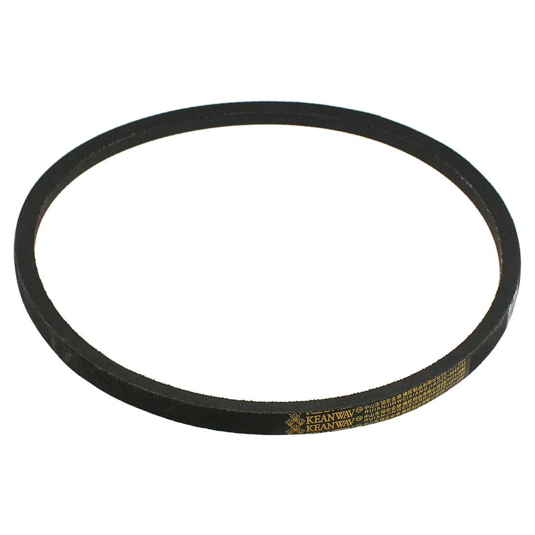 "Machine Transmission B Type 85"" Inner Girth Vee V Belt Black"