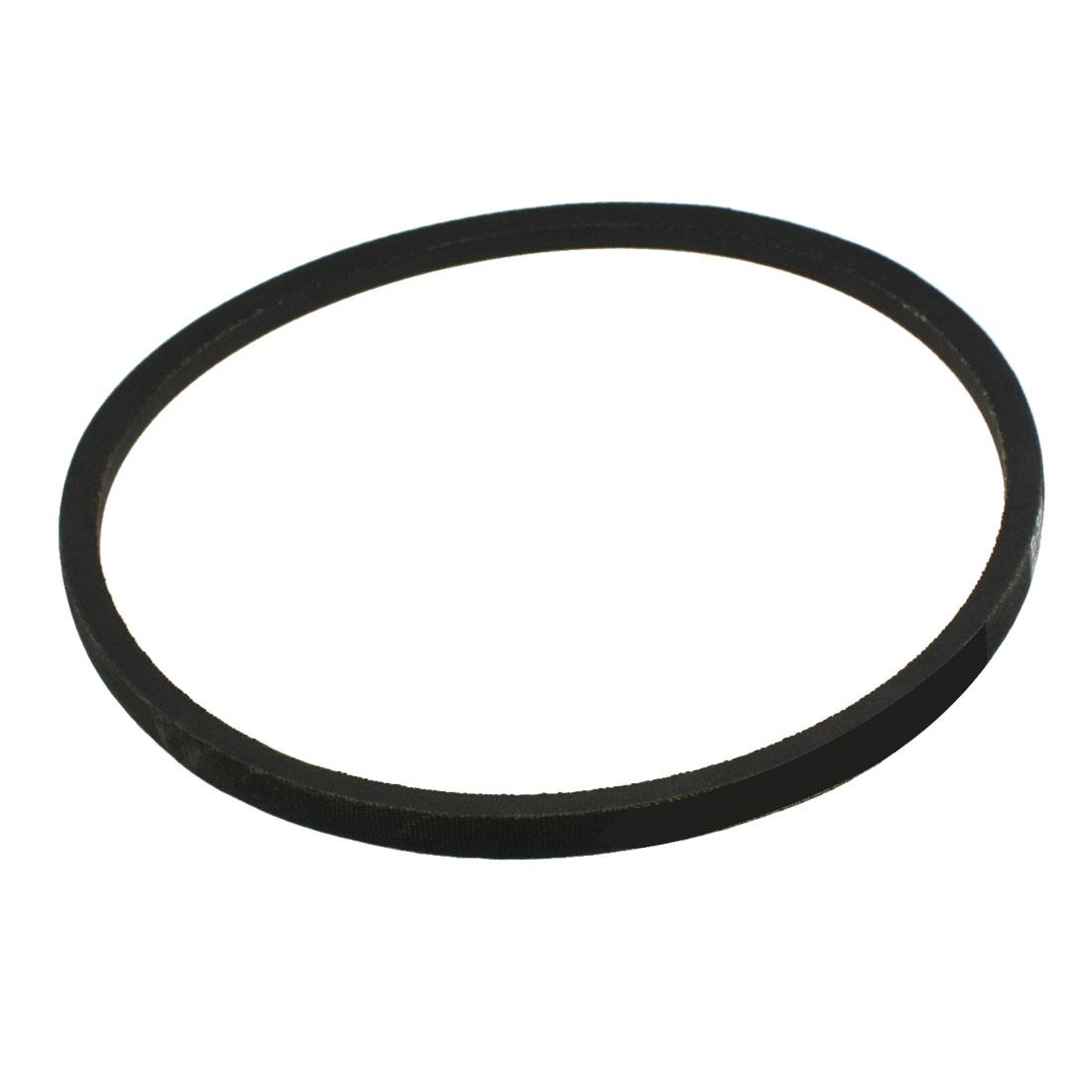 Machinery Drive Band Black Rubber B Type Vee V Belt 16mm x 850mm